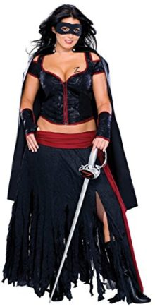 Secret-Wishes-Full-Figure-Lady-Zorro-Costume-0
