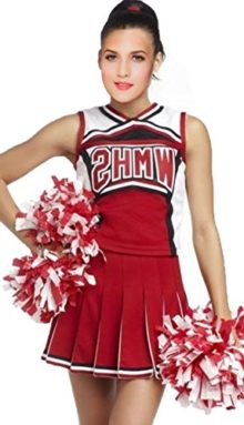 Sexy-Cheerleader-Costume-Women-Sport-Red-Basketball-Cheerleader-Costumes-0