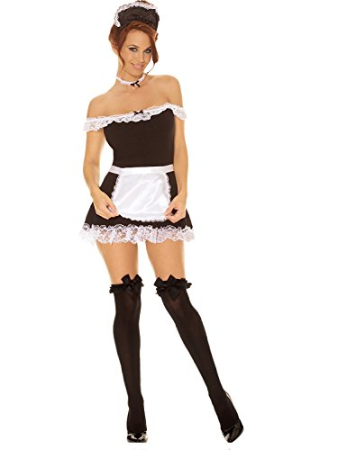 Sexy French Maid Adult Roleplay Costume