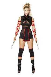 Sexy-Womens-3pc-Ninja-Striker-Costume-0