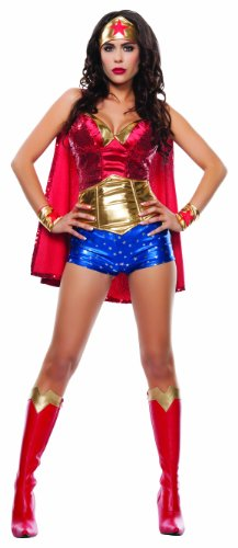 Starline-Womens-Wonder-Lady-Sexy-5-Piece-Costume-Set-with-Headpiece-0