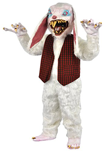 UHC Peter Rottentail Bunny Outfit Horror Movie Theme Halloween Costume
