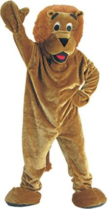 UHC-Unisex-Lion-Mascot-Jumpsuit-Funny-Comical-Theme-Adult-Halloween-Costume-0