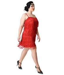 Unique-Vintage-Plus-Size-1920s-Red-Speakeasy-Tiered-Fringe-Flapper-Dress-0
