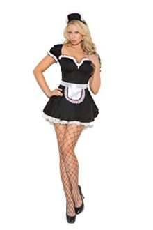 Womens-Sexy-French-Maid-Adult-Role-Play-Costume-0
