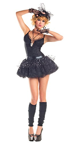 Adult size Material Girl Pop Star Costume – Madonna – 3 sizes