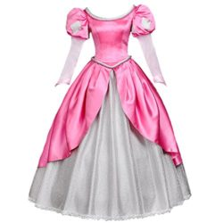 Angelaicos-Womens-Princess-Dress-Lolita-Layered-Party-Costume-Ball-Gown-L-Pink-0