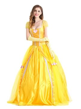 Beautiful-Women-and-The-Beast-Costume-Cosplay-Belle-Princess-Long-Dress-with-Pannier-0-0