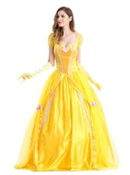 Beautiful-Women-and-The-Beast-Costume-Cosplay-Belle-Princess-Long-Dress-with-Pannier-0-1