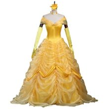 CLLMKL-Adult-Princess-Belle-Costume-Beauty-and-The-Beast-Cosplay-Dress-0