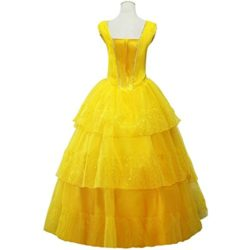 CLLMKL-Womens-Dress-for-Beauty-and-The-Beast-Princess-Belle-Cosplay-0-1