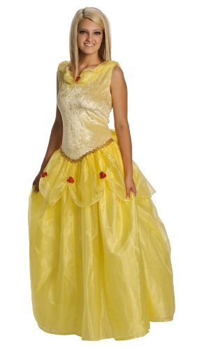 DELUXE Belle of the Ball Adult Costume Dress