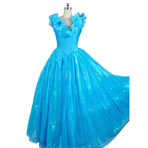 Mtxc-Womens-Cinderella-Cosplay-costume-Cinderella-Dress-One-piece-0-1