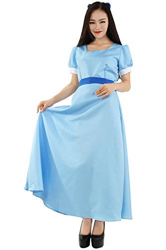 Nuotuo Women Costume Dresses Princess Cosplay Party Fancy Maxi Dress