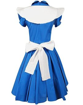 Sidnor-Alice-in-Wonderland-MovieFilm-Blue-Cosplay-Costume-Outfit-Suit-Maid-Dress-Apron-0-0