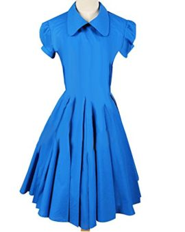 Sidnor-Alice-in-Wonderland-MovieFilm-Blue-Cosplay-Costume-Outfit-Suit-Maid-Dress-Apron-0-2