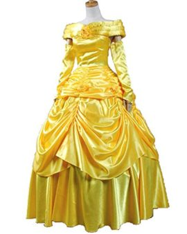 Sidnor-Beauty-and-the-Beast-Princess-Belle-Evening-Gown-Dress-Cosplay-Costume-0-0