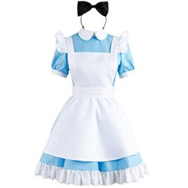 Sidnor-Cosplay-Alice-in-Wonderland-Blue-Maid-Dress-Costume-Outfit-Suit-Apron-New-Version-0