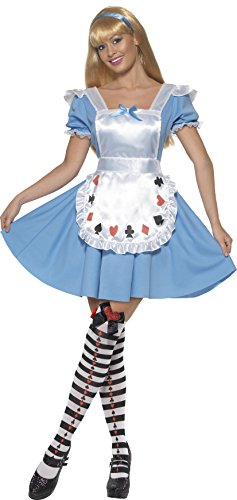 Smiffy's Women's Deck Of Cards Girl Costume with Dress