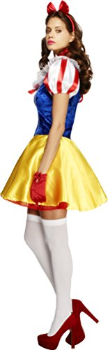 Smiffys-Womens-Fever-Fairy-tale-Costume-Dress-Attached-Underskirt-Headband-and-Choker-Once-Upon-a-Time-Fever-Size-6-8-30195-0-2