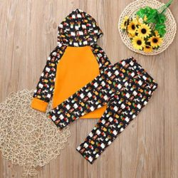 2Pcs-Baby-Girls-Boys-HalloweenCartoon-Hoodie-TopsPants-Clothes-Outfits-Set-0-1