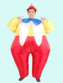 ACE-SHOCK-Inflatable-Clown-Costume-Unisex-Adults-Funny-Halloween-Cosplay-Bodysuit-Blow-up-Costume-0-2