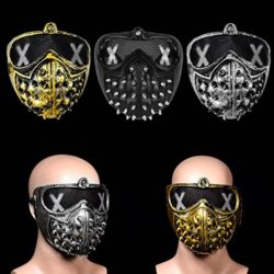 AFfeco-Rivet-Mask-Watch-Dogs-Halloween-Punk-Devil-Cosplay-Stage-Party-Face-Masks-0-0