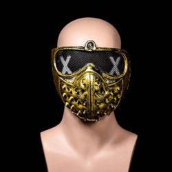 AFfeco-Rivet-Mask-Watch-Dogs-Halloween-Punk-Devil-Cosplay-Stage-Party-Face-Masks-0-2