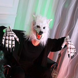 AFfeco-Scary-Wolf-Head-Full-Face-Ghost-Head-Mask-Halloween-Masquerade-Decoration-0-3