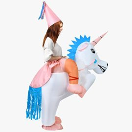 ANOTHERME-Unicorn-Rider-Inflatable-Costume-for-Adults-Child-Halloween-Blow-Up-Fancy-Dress-0-0