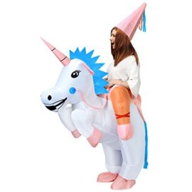 ANOTHERME-Unicorn-Rider-Inflatable-Costume-for-Adults-Child-Halloween-Blow-Up-Fancy-Dress-0
