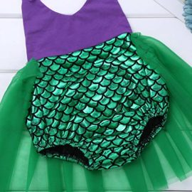 Alvivi-Toddler-Baby-Girl-Mermaid-Costume-Lace-Straps-Halter-Romper-with-Headband-Outfit-0-2