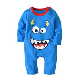 Clearance-Baby-Halloween-Cute-Romper-Boys-Girls-Cartoon-JumpsuitHat-Set-Outfit-0-0