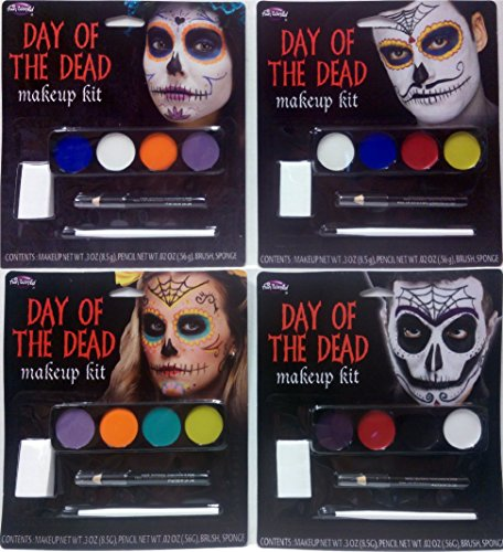 Day of The Dead Makeup Kit – Male and/Or Female
