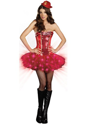 Dreamgirl 7492 Too Hot For You Sexy Firefighter Costume