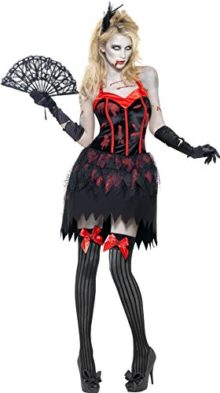 Fever-Womens-Zombie-Burlesque-Costume-Dress-with-Blood-0