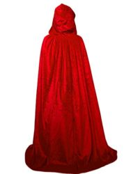 HSDREAM-Unisex-Hooded-Wedding-Cape-Cloak-lined-with-Satin-For-Halloween-Costume-0-1