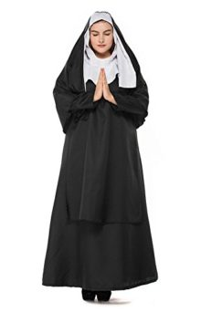 HZY-Womens-Halloween-Black-Medieval-Nun-Robe-Costume-Cosplay-Dress-Cloak-Plus-Size-0