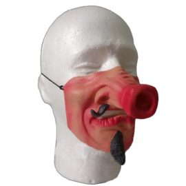 Half-face-Funny-Halloween-Party-Cosplay-Masks-0-2