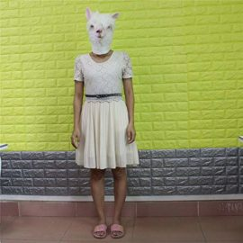 Halloween-Costume-Party-Masks-Masquerade-Mask-Grimace-Ghost-Mask-Scary-Mask-Zombie-by-Miya-0-1