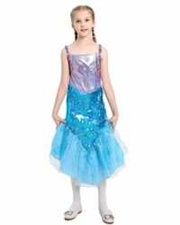 Halloween-Girls-Mermaid-CostumeCute-Animal-Themed-Cosplay-Party-Show-Dress-0-0