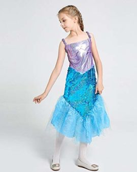 Halloween-Girls-Mermaid-CostumeCute-Animal-Themed-Cosplay-Party-Show-Dress-0-1