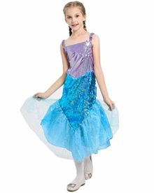 Halloween-Girls-Mermaid-CostumeCute-Animal-Themed-Cosplay-Party-Show-Dress-0