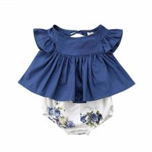 Hatoys-Dress-Baby-Girl-Floral-T-Shirt-Dress-Tops-Shorts-Pants-Clothes-Outfit-2pcs-Set-0