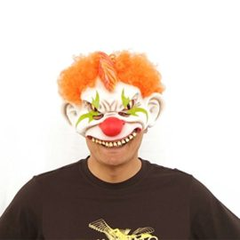 Horror-Evil-Clown-Mask-Chinless-Latex-Adult-Half-Face-Mask-Scary-Head-Red-Nose-Halloween-Prop-0-1