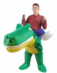 Inflatable-Crocodile-Costume-Unisex-Adults-Halloween-Riding-Animal-Cosplay-Blow-up-Costume-0