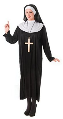 Ladies-Womens-Nun-Costume-Fancy-Dress-Religious-Holy-Sister-0