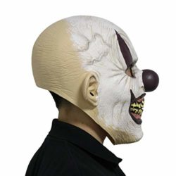 LarpGears-Novelty-Halloween-Costume-Party-Evil-Ghost-Funny-Clown-Mask-for-Adults-0-3