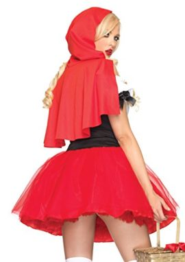 Leg-Avenue-Women-S-Racy-Red-Riding-Hood-Tutu-Peasant-Dress-With-Attached-Hooded-Cape-0-0