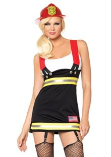 Leg-Avenue-Womens-Backdraft-Babe-Garter-Dress-with-Cotton-Tank-and-Suspenders-0